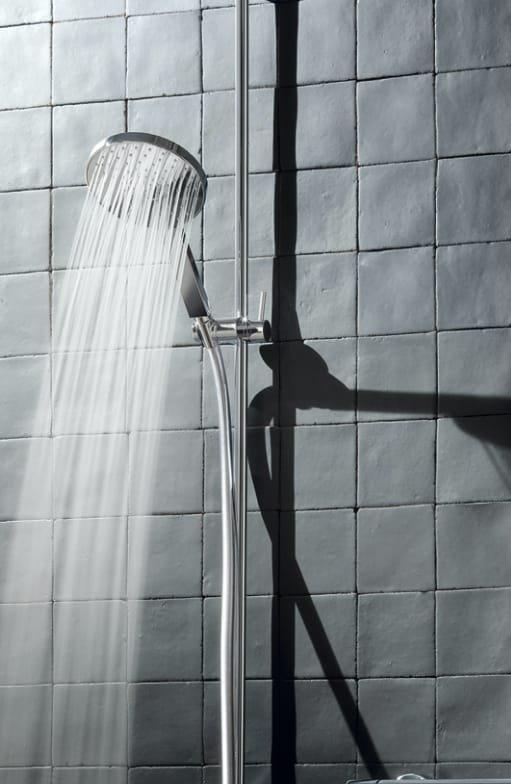 Adjustable shower rails
