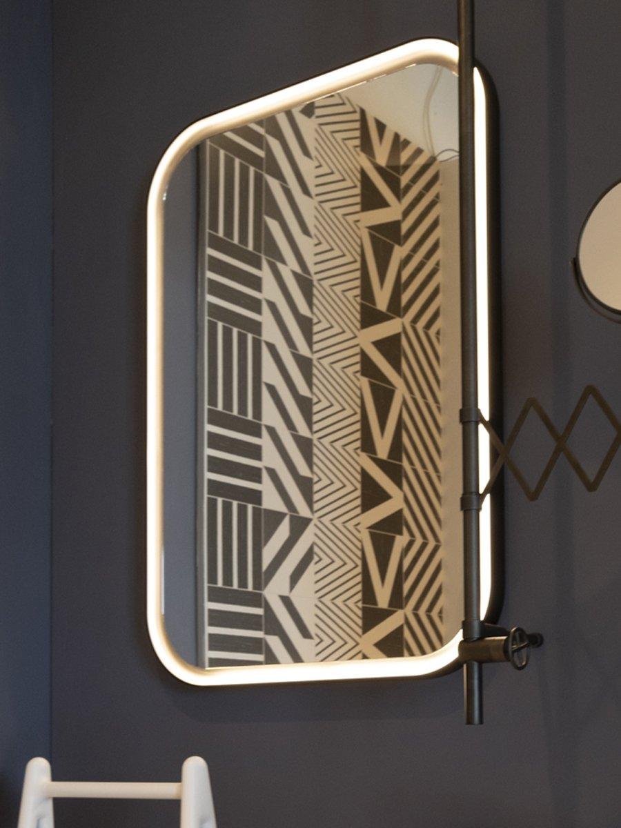 Agape, Memory Specchio con illuminazione 70x100 cm