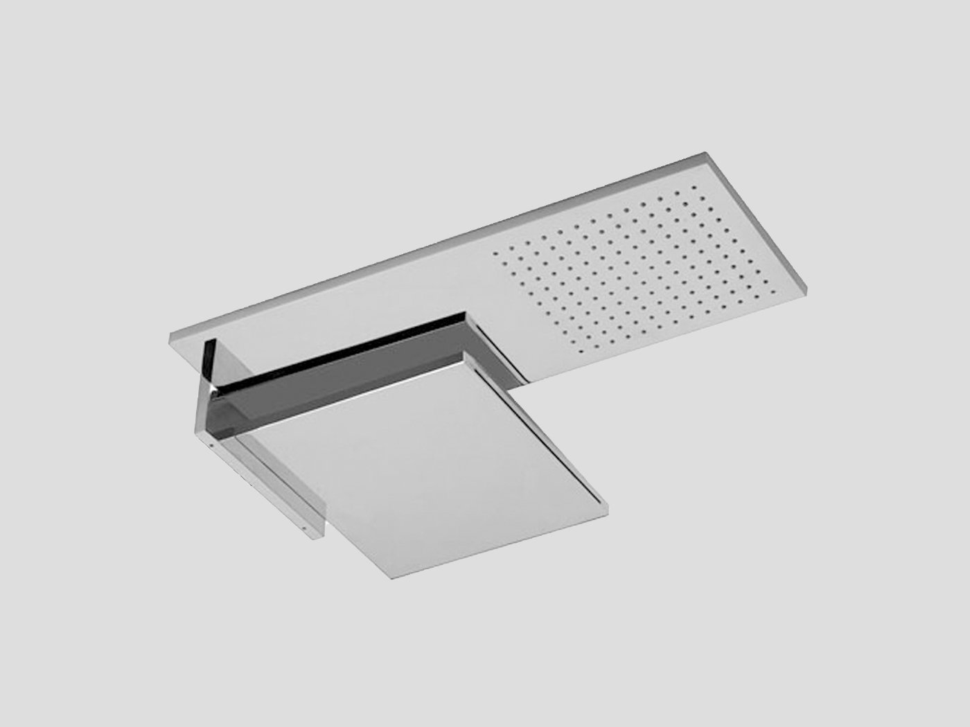 Fantini, Milano Double Shower head