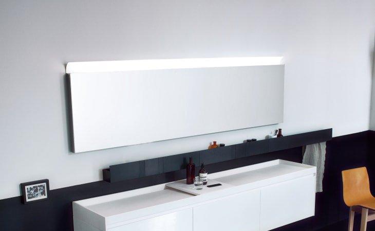 Agape, Parabola Specchio 160x60 cm