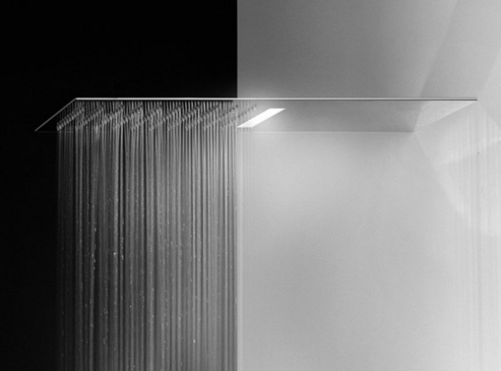 Gessi, Tremillimetri-Quadro Shower head with light