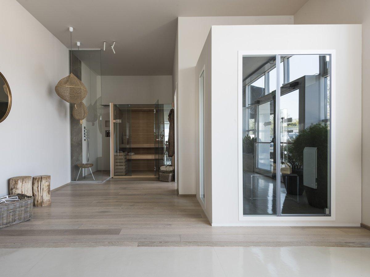 Effegibi, Smart Porta + vetrata per hammam 105 + 40