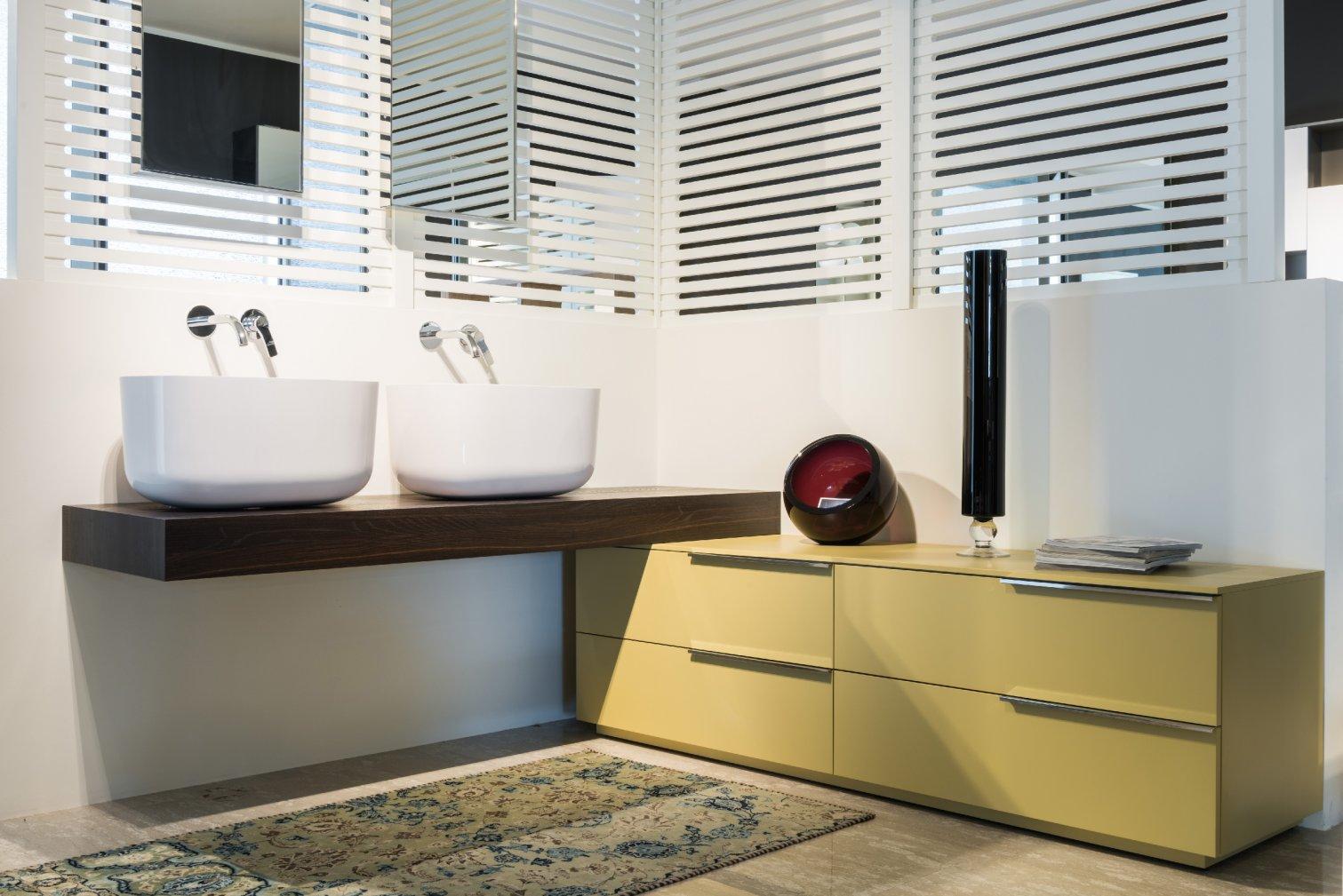 Idea, My Time Mobile doppio lavabo