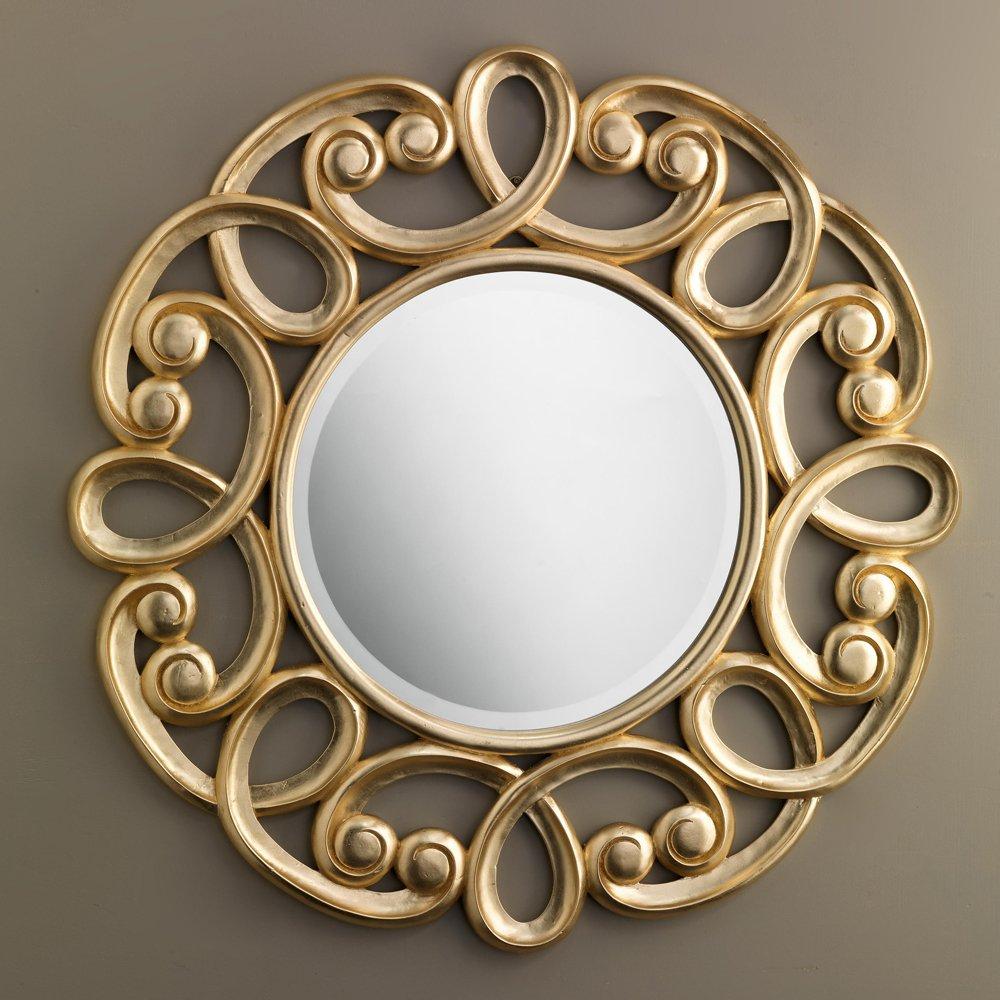 Devon&Devon, Gold Norma Specchio Diametro 100 cm