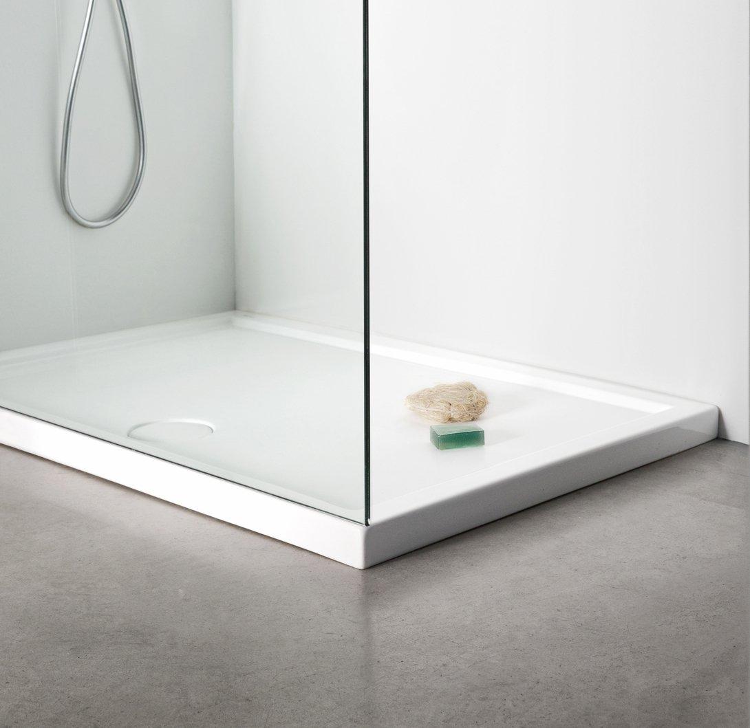 Nic Design, Minimo Piatto doccia  100x70 cm NERO