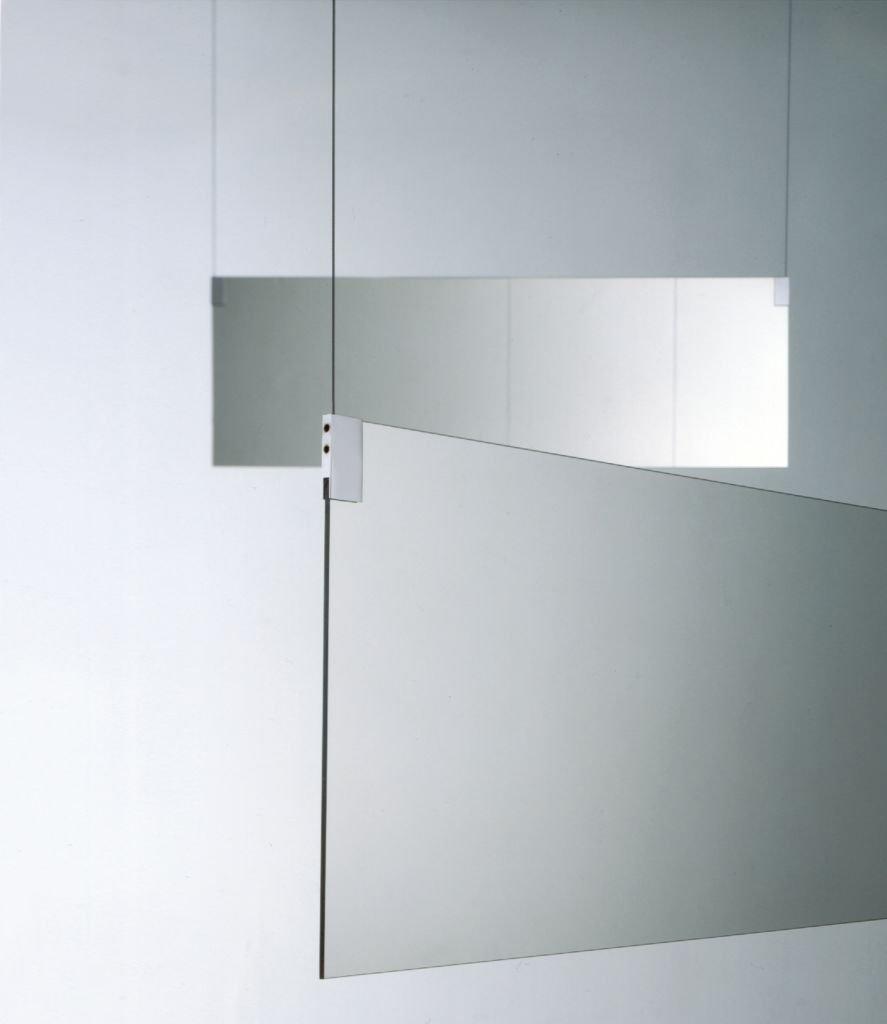 Agape, Insegna Specchio 120x40 cm
