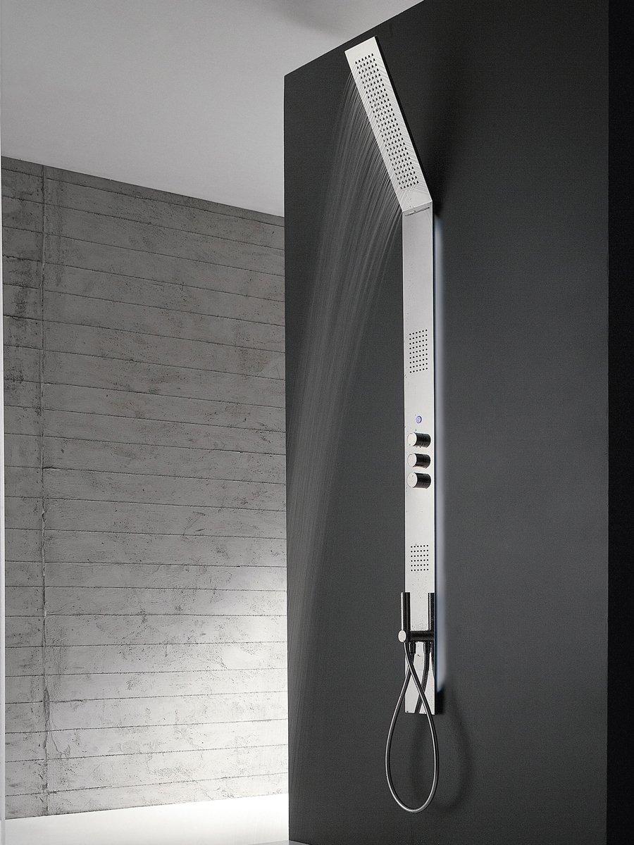 Zazzeri, Obliqua Colonna doccia