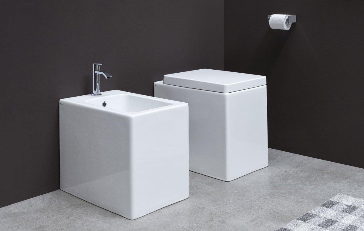 Nic Design, Cool Coppia sanitari SABBIA LUCIDO