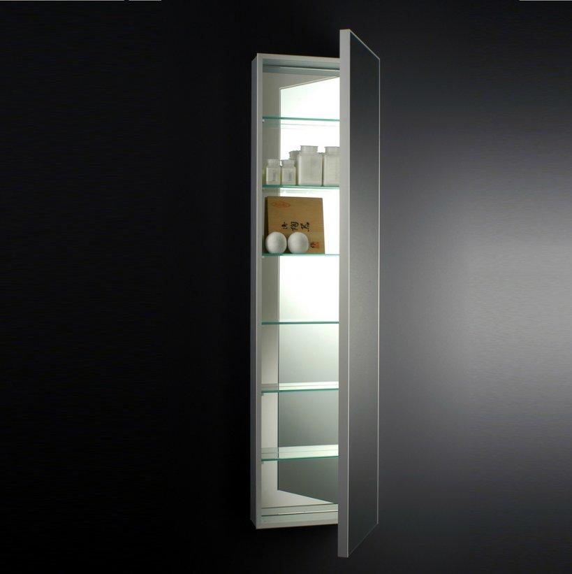 Boffi, Square Specchio contenitore 40x160 cm