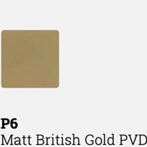 Fantini,  Icona Deco Shower head MATT BRITISH GOLD PVD