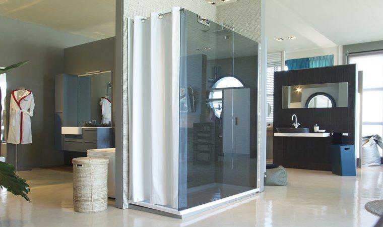 Disenia, Walk-in Parete doccia+tenda L 170 cm