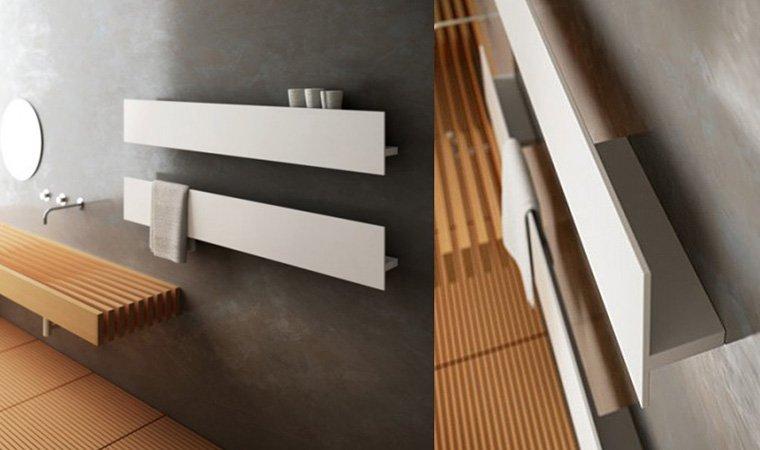 Antrax, Serie T (T1P) Scaldasalviette  150x23 cm BIANCO OPACO