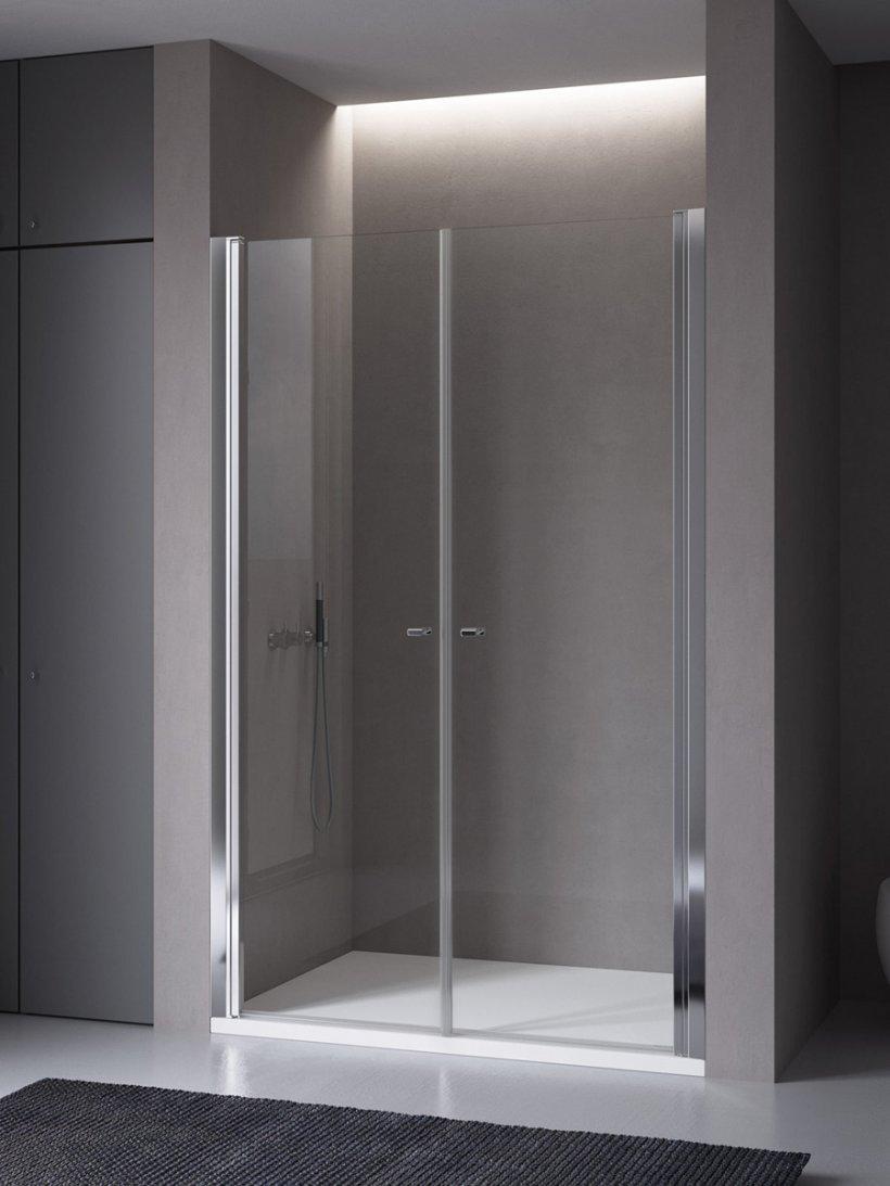 Calibe, Palau Porta doccia due ante L 91 cm