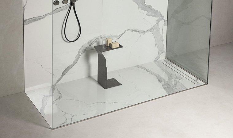 Makro, Unico Bacino doccia da rivestire 80x70 cm