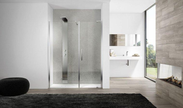 Disenia, Slim Porta doccia L 100 cm