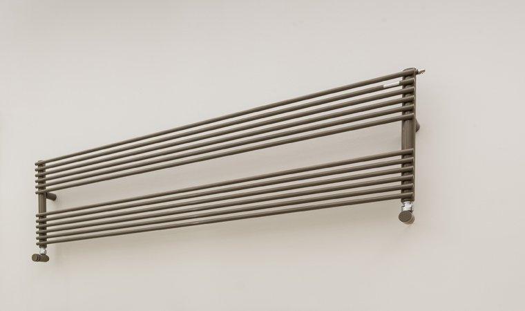 Tubes, Ro14 Scaldasalviette 140x37 cm GRIGIO OMBRA OPACO