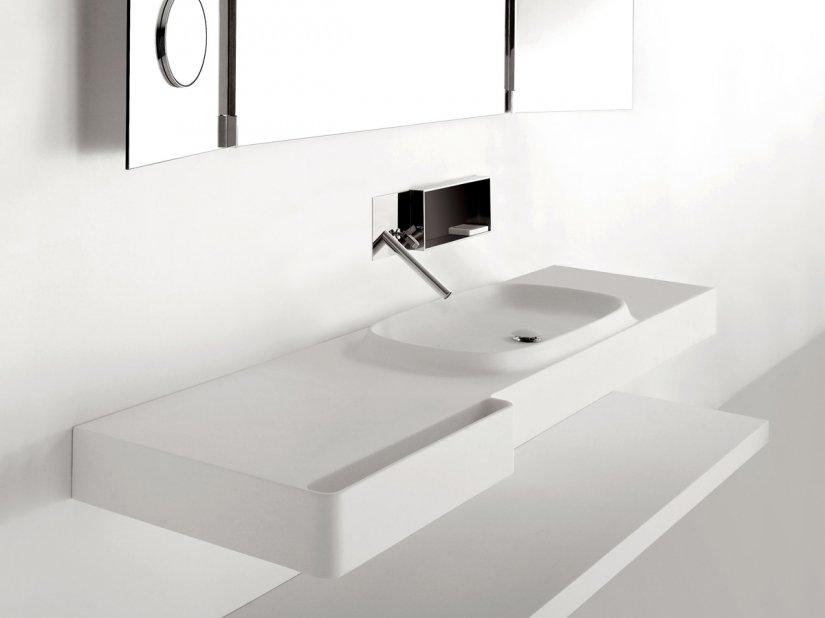 Agape, Desk + Flat XL Vanity Unit