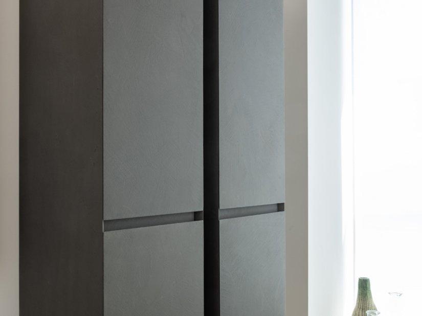 Idea, Cubik Colonna contenitore 35x126 cm FANGO