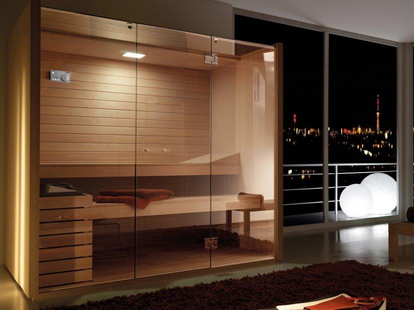 Effegibi, Sky 40 Glass Sauna