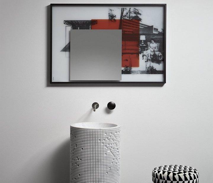 antoniolupi, Collage Specchio 108x75 cm