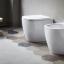 Nic Design, Ovvio Coppia sanitari BIANCO MATT