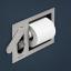 antoniolupi, Carteintenso Hygienic shower + paper roll holder